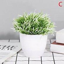 Plantes artificielles bonsaï petit arbre Pot