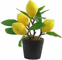 Plantes Artificielles Citron Citronnier Intérieur