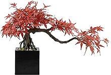Plantes artificielles Érable artificielle Bonsai