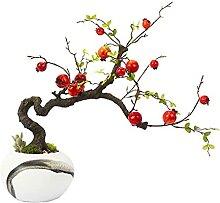 Plantes artificielles faux bonsaï Arbre de