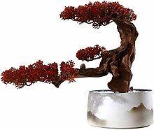 Plantes artificielles faux bonsaï Plantes en pot