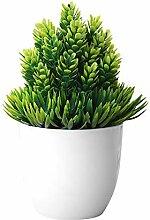 Plantes artificielles Mini artificielle bonsaïs
