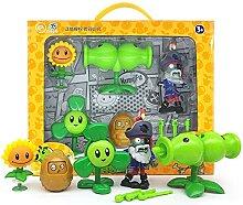 Plantes Tireur de pois Zombie 2 jouets Full Set