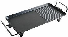 Plaque chauffante électrique pour barbecue