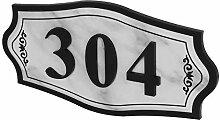 Plaque de Numéro de Maison Personnalisée Panneau