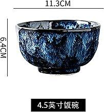 Plaque en céramique Bol Bleu Vaisselle Creative