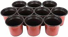 Plastique Pots en plastique Pots for les plantes
