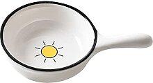 Plat à sauce Bol à trempette en céramique de