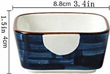 plat plat en plastique Plaque de porcelaine Plats