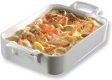 Plat rectangulaire porcelaine Belle Cuisine 30 cm