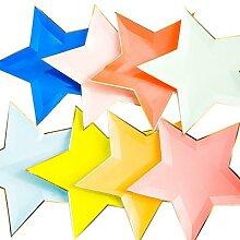 Plateau à papier en forme d'étoile à cinq