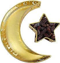 Plateau de dessert Nut Nut Star Star Star de lune