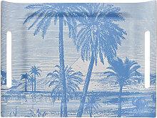Plateau en bois palmier 58 x 42