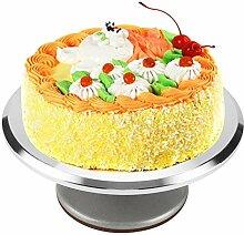 Plateau tournant de gâteau de décoration de