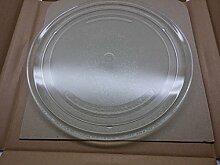 Plateau tournant en verre diamètre 27 cm pour