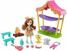Playset enchantimals mattel savanna sleepover