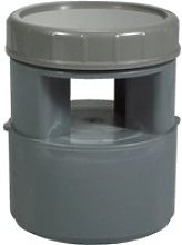 Plomberie - aérateur à membrane pvc ø 110 mm