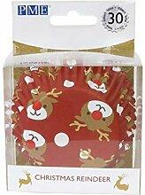 PME BC804 Lot de 30 boîtes à cupcakes Motif