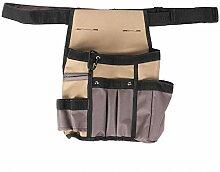Pochette de ceinture à outils, outils de jardin