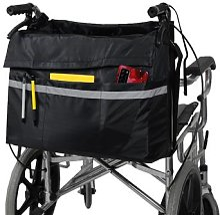 Pochette de rangement multi-poches pour fauteuil