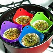 Pocheuse pour œufs Coupe Poach Silicone Vert