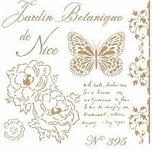 Pochoir Deco Vintage Composition 209 Botanique