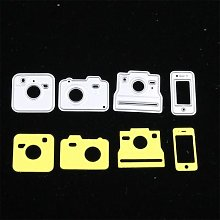 Pochoirs de découpe en métal pour appareil photo