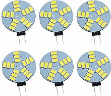 Pocketman Pack de 6 ampoules à LED G4 dimmable,