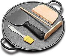 Poêle à crêpes Plaque de cuisson Crêpière