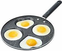Poele a pancakes 24cm, poêle antiadhésive à 4