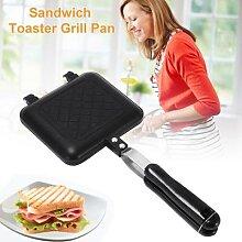 Poêle antiadhésive pour grille-pain, Sandwich,