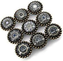 Poignées de meuble Vintage, boutons de tiroir en