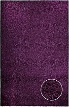 Poil long Tapis Shaggy - coleur violette aubergine