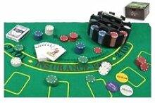 Poker 200 jetons et accessoires 90101