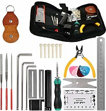 POKIENE Kit de Réparation de Guitare 26PCS,