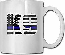 Police K9 Thin Blue Line Gift Tasse à café