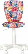 Polly fleur- fauteuil, chaise de bureau pour