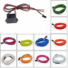 Polyvalent 1m 3m 5m voiture el fil LED bande