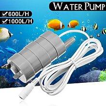 Pompe à eau Submersible verticale 12V 5M 600L/H