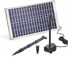 Pompe solaire pour bassin 25W 875 l/h Pompe