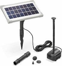 Pompe solaire pour bassin 3.5W 200 l/h Pompe