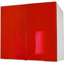 POP Meuble haut de cuisine 80 cm - Rouge haute