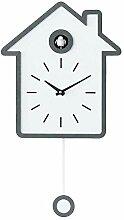 popchilli Horloge murale moderne en forme de