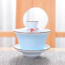 Porcelaine Bleue et Blanche exquise Three Talents