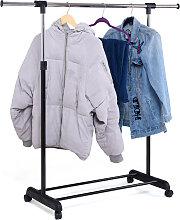 Portant Penderie à Vêtements Mobile