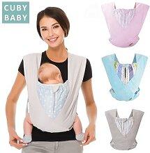 Porte-bébé ergonomique en coton naturel, sac à