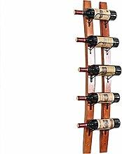 Porte-bouteilles de vin en bois