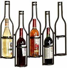 Porte-bouteilles de vin suspendus Porte-verre à