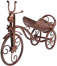 Porte-bouteilles en forme de tricycle,