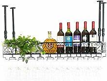 Porte-bouteilles Gobelets en verre de vin